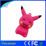 Clé de mémoire USB promotionnelle de bille de Pikachau Pokemon de cadeau de logo fait sur commande