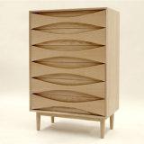 Gabinete de la sala de estar del diseño moderno de la alta calidad con la pierna de madera