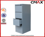 Filing Cabinet en acier 4-Drawers Vertical Steel Cabinet Office Metal Storage Cmax-Fd04-001