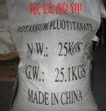 Hete die Bevordering 98% Kalium Fluotitanate voor Katalysator (CAS 16919-27-0) wordt gebruikt