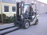 Forklift da capacidade 1800kgs LPG/Gas com o deslocador Triplex do mastro e do lado