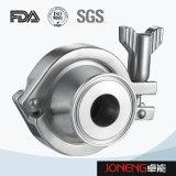 Válvula de verificação soldada sanitária do aço inoxidável (JN-NRV1001)
