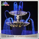 Fontane esterne 3D dell'indicatore luminoso della decorazione della via di motivo LED di natale