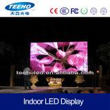 Visualización de LED a todo color de interior de alta resolución del alquiler P3