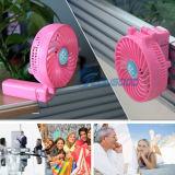 HandfanのFoldableおよび再充電可能な小型ファンか携帯用扇風機