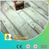 пол воды дуба текстуры Woodgrain 12mm V-Grooved упорный Laminate