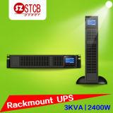 UPS en línea de la UPS 3kVA del montaje de estante para la oficina