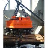 Tipo rotondo elettro elevatore del magnete della gru per il trattamento dei ferri