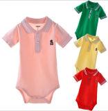 De leuke Baby kleedt het Zuivere Katoenen Zachte Kruippakje van de Baby