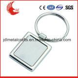 Coût libre de moulage de vente directe d'usine de trousseau de clés de blanc en métal