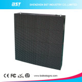 LED curvo P8 flessibile che fa pubblicità allo schermo di visualizzazione con l'angolo di visione H140/V140 per il centro commerciale