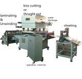 Rollo de hoja de tela de algodón de corte de la máquina