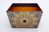 UV напечатанная голубая коробка хранения цвета/бумажная коробка