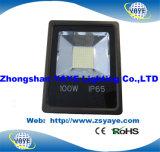 Reflector caliente de la luz de inundación de la luz de inundación de RoHS SMD 100W LED del Ce/de la venta de Yaye 18 SMD 100With 100W SMD LED con 3 años de garantía