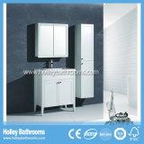 Neue Entwurfs-Badezimmer-Schränke mit dem freien seitlichen Glasschrank eingestellt (BV216W)