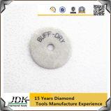 O gancho & o laço suportaram almofadas de polonês secas do diamante de 80-200mm para processar pedras da natureza