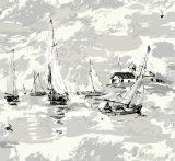Carta da parati dei murali della parete di paesaggio di vista del mare per la stanza dei capretti