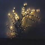 حديقة عيد الميلاد الديكور LED غصين شجرة الخفيفة