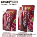 グラビア印刷の印刷の袋、プラスチック包装袋は、オイル/ケチャップDq0571のための袋を立てる