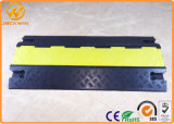 900 X 500 * 75 mm сверхмощное Rubber 3 Channel Cable Protector Ramp