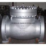 Clapet anti-retour d'extrémité de connexion de bride d'acier du carbone de moulage