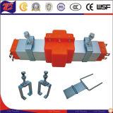 Caña de izar encerrada aleación de aluminio de carril de deslizamiento