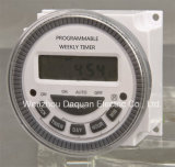 Programmable semanal Digital Timer/Tempo Switch com Pulse (Dhc20A)