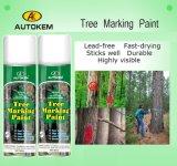 木のマーキングのスプレー式塗料