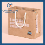 Sports rispettabile Kraft Packing Bag con Logo (CMG-MAY-027)