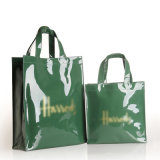 Impermeável PVC Zipper bolso Forro Shopping Bag Armazenamento Bolsas Handbag