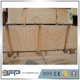Mattonelle di legno naturali delle lastre dell'arenaria di colore giallo del grano