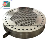 Précision Machined Tubesheet Heat Exchanger Plate pour Evaporator (ZH-MP-012)