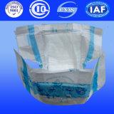 Desechables alta absorbente del pañal del bebé con la cubierta en seco