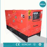 3 generatore diesel silenzioso di fase 50Hz 45kVA alimentato da Cummins Engine