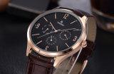 De la alta calidad del cuarzo del reloj de los hombres del acero inoxidable del reloj alta calidad de lujo 72224 ultra