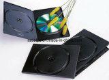 Пластичный двойной случай черноты DVD
