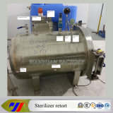 Kleines Model Autoclave Sterilizer Retort für Sterilization Luncheon Meat