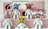 Concevoir les chiffres en fonction du client de jouet de vinyle, chiffre animal en gros de jouet d'OEM pour des enfants