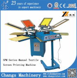 Spm850 Manual Rotary T-Shirt 또는 Leather/Wood/Textile/Garments/Clothes/Shirt/Glass/Paper/Card Printer/Printing Machine