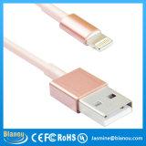 Données d'or de Rose de qualité d'usine chargeant le câble d'USB pour l'iPhone 6 6 Plus/5/5s