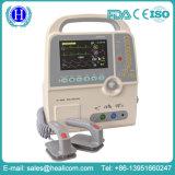 Defibrillator bifásico portátil da venda quente com monitor