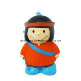卸売価格のビニールボディアメリカの女の子のカスタム女の子の人形