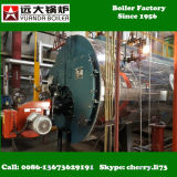 Wns 0.5-6 tonne conjuguent la chaudière d'essence et d'huile et à gaz pour l'industrie de cylindre réchauffeur