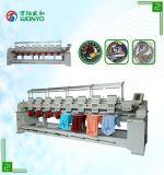 Machine automatisée de broderie de 8 têtes avec le grand ordinateur d'écran tactile pour la broderie tubulaire/de T-shirt /Flat