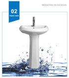 Раковина мытья тазика постамента мытья Weidansi керамическая (WDS-P7201)
