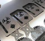 ステンレス鋼の中国の製造者を切るレーザーの打抜き機のファイバーレーザー
