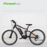 """"""" E-Bici llena de la montaña del motor de la manivela de la suspensión 28"""