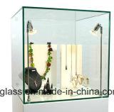 Radura o scaffali di negozio Tempered ultra chiari di vetro