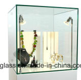 Espace libre ou rayons de magasin Tempered ultra clairs en verre