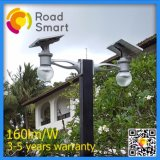 Intelligentes Solarstraßenlaternedes Controller-LED für im Freiengarten